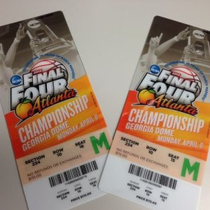 a final four tickets